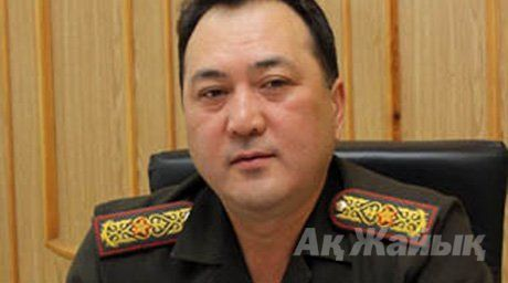 Talgat Yesetov, the Head of the Border Guard Serice Academy, Photo:Tengrinews.kz
