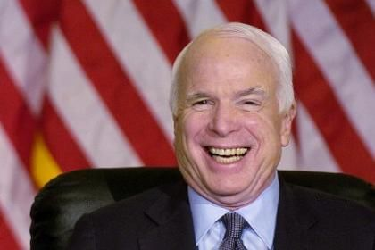 John McCain Photo: Ed Pfueller / Getty Images / AFP