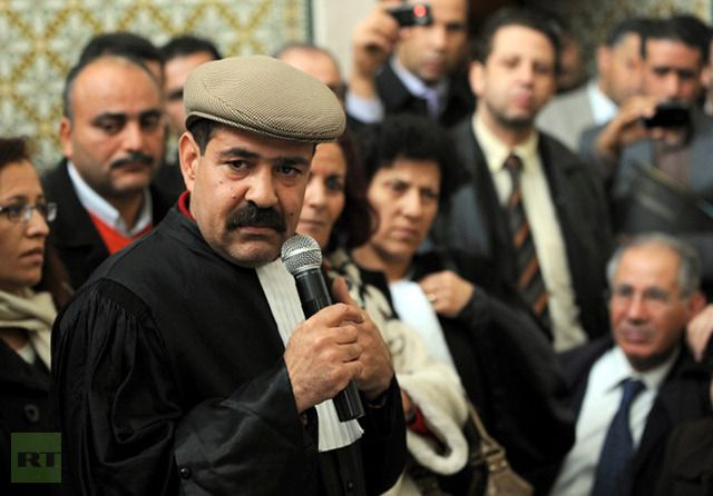 A picture taken on December 29, 2010 shows Tunisian opposition leader Chokri Belaid. (AFP Photo)
