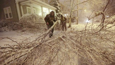 Governors across New England have declared states of emergency