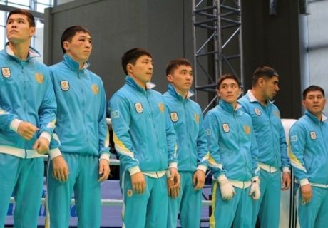 Kazakhstan boxing team