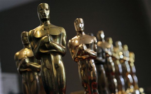 Oscar nominations: a set of Oscar statuettes  Photo: Getty Images