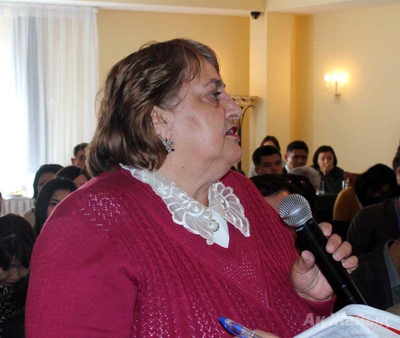 Galina Chernova, the head of Globus ecological-legal initiative centre
