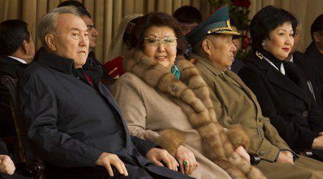 Nursultan Nazarbayev and his wife Sara Nazarbayeva. ©tengrinews.kz