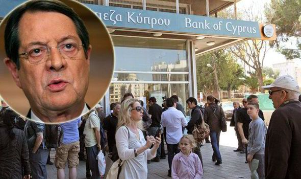 Cypriot President Nicos Anastasiades has cut his own salary. Photo:express.co.uk