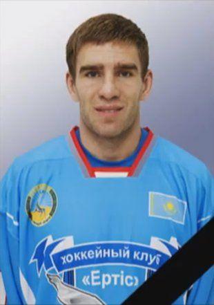 Ertis-Pavlodar hockey team forward Dmitri Uchaykin