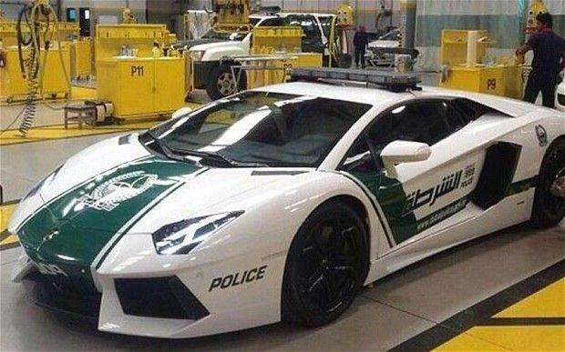 The £360,000 Lamborghini Aventador has a top speed of 217mph and can go from 0 to 62mph in 2.9 seconds