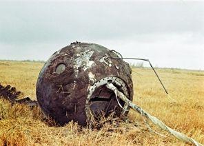 Vostok 1 spaceship capsule