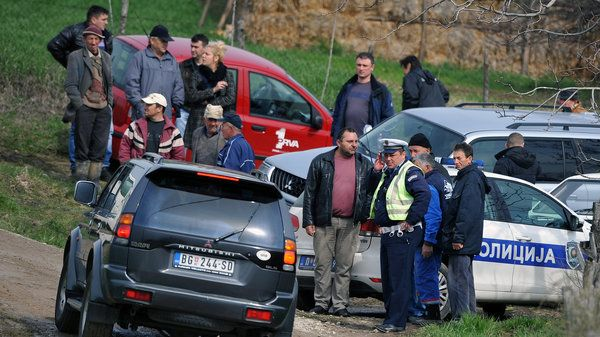 The killings of 13 people in a village near Belgrade, Serbia, were met with shock and disbelief.