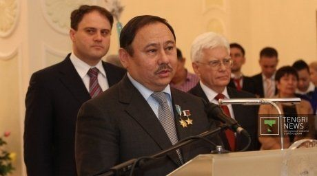 Chairman of Kazakhstan National Space Agency Talgat Mussabayev.