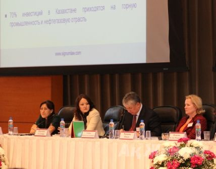 The Presidium of the 11th International Legal Conference (KPLA) held in Atyrau