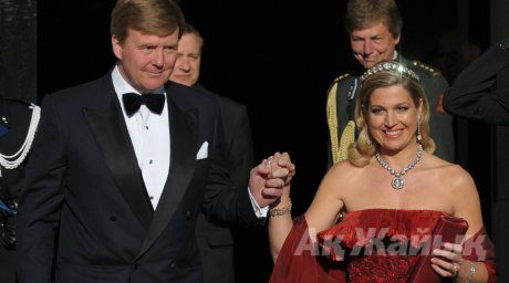 Dutch Crown Prince Willem-Alexander and his wife Crown Princess Maxima. ©Reuters