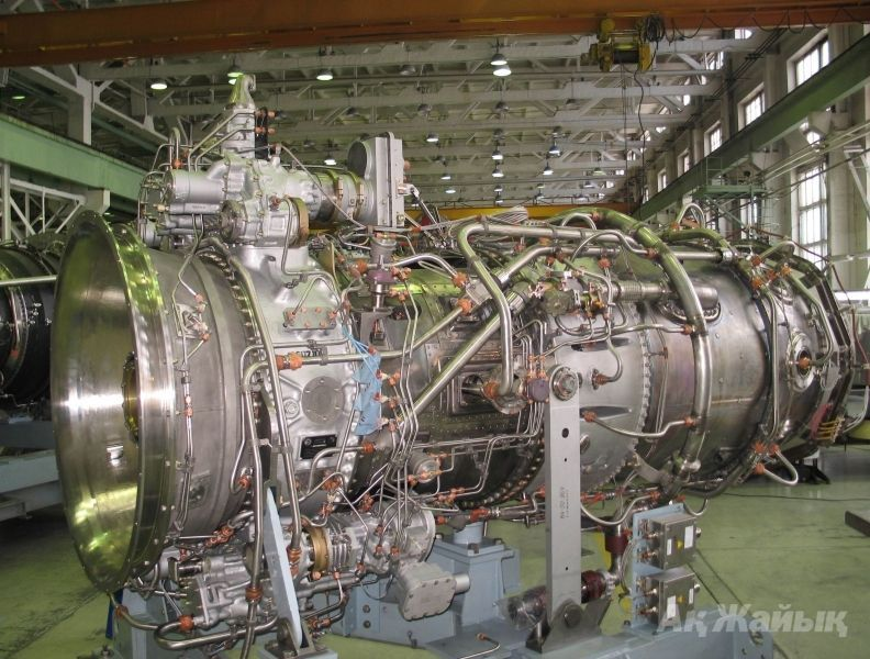 Gas turbine power generator at Karabatan
