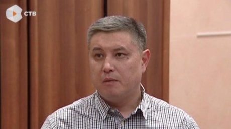 Murat Kadyrbayev. STV channel frame
