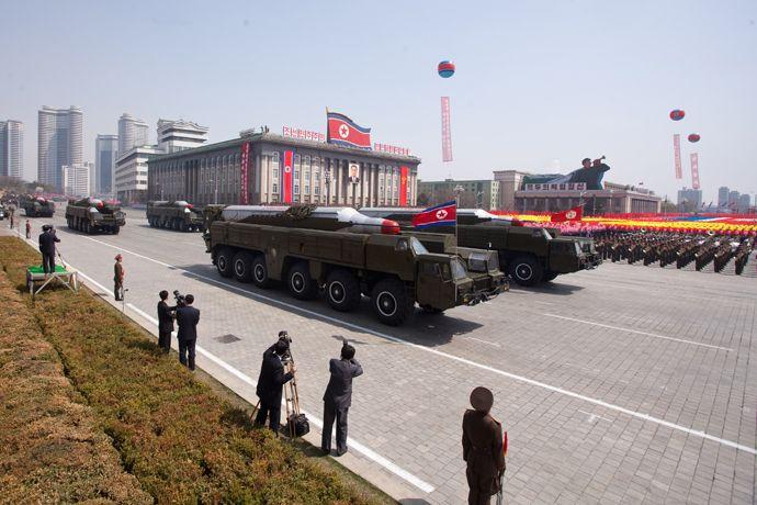 Musudan class missiles