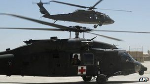 Black Hawk helicopters were cited as one of the weapons systems compromised by hackers