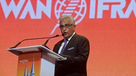 President of the World Association of Newspapers and News Publishers (WAN-IFRA), Jacob Mathew. ©AFP
