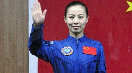 Crew member of Shenzhou-10, Wang Yaping. ©AFP