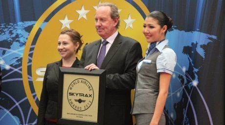 President of Air Astana Peter Foster  @Tengrinews.kz