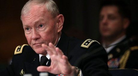 Chairman of the Joint Chiefs of Staff General Martin Dempsey.