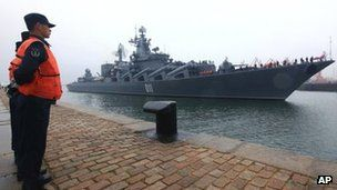 China and Russia conducted their first naval drills in 2012