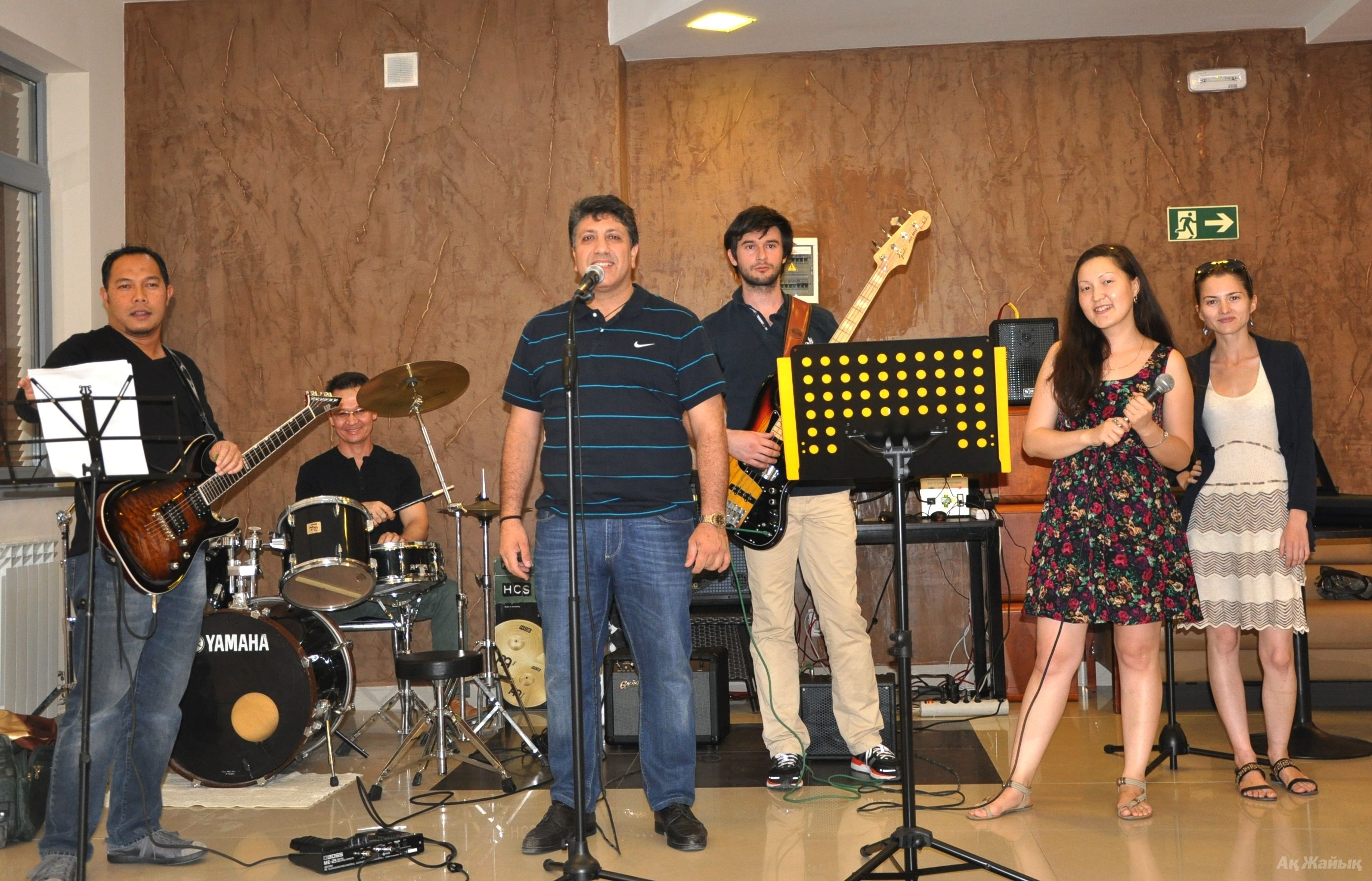 The band had its 1st public performance on July 13, 2013