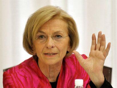 Emma Bonino, Italy's foreign minister
