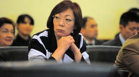 Kazakhstan Healthcare Minister Salidat Kairbekova. Photo courtesy of press-service of Kazakhstan Healthcare Ministry