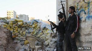 There have been frequent clashes in Aleppo