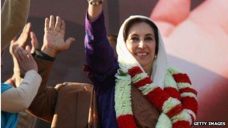 Benazir Bhutto was at a campaign rally when she was assassinated