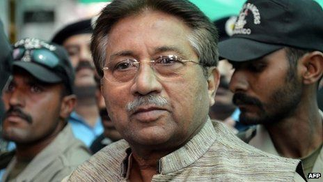Mr Musharraf returned to Pakistan from self-imposed exile earlier this year