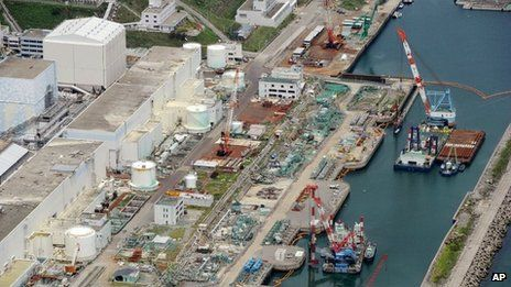 The tsunami knocked out cooling systems to the reactors at Fukushima