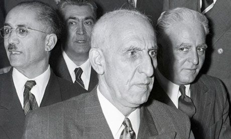 Mohammed Mosaddeq is described in one US document as 'mercurial, maddening, adroit, and provocative'. Photograph: Bettmann/Corbis