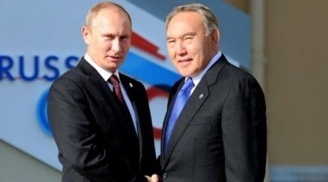 Nursultan Nazarbayev and Vladimir Putin at the G20 summit. Photo courtesy of akorda.kz  For more information see: http://en.tengrinews.kz/politics_sub/President-Nazarbayev-speaks-on-the-global-financial-crisis-at-the-G20-summit-22420/ Use of the Tengrinews English materials must be accompanied by a hyperlink to en.Tengrinews.kz