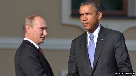 Russia's Vladimir Putin and US President Barack Obama failed to see eye to eye over Syria during the G20 summit