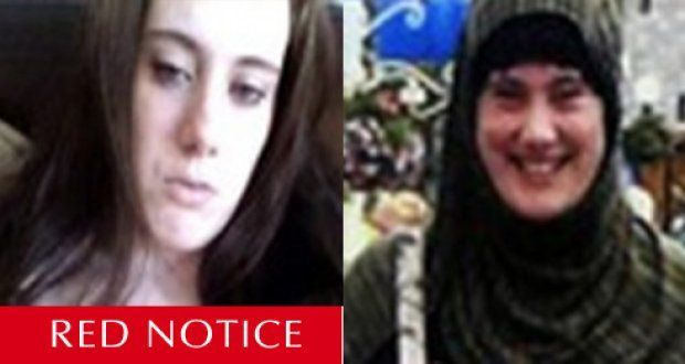 "Interpol have issued a ""Red Notice"" for Samantha Lewthwaite. Photograph: Interpol website"