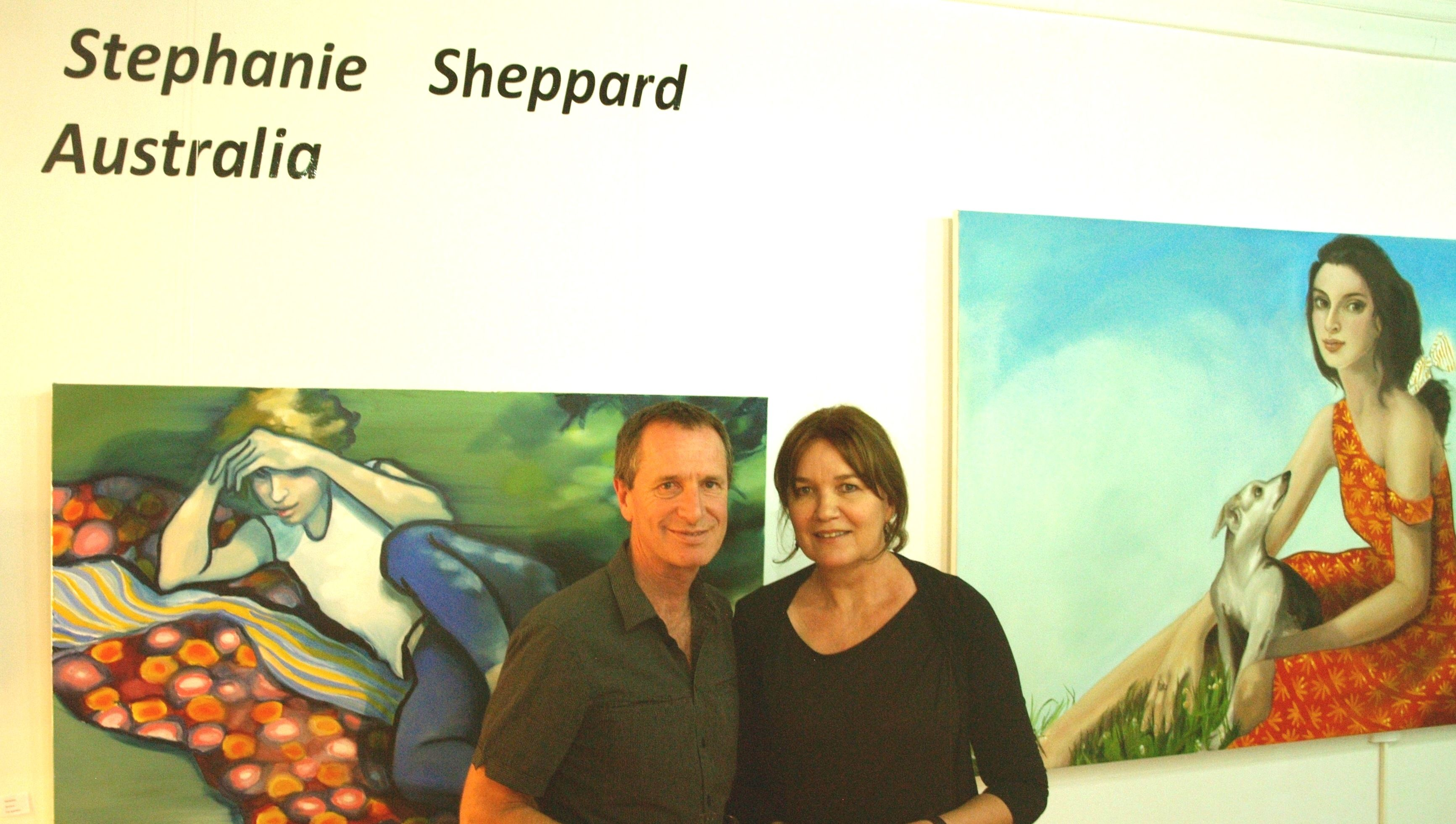 Stephanie and Graham Shepperd