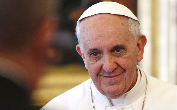 Pope Francis appointed eight Catholic cardinals to shake up the Vatican's murky and autocratic bureaucracy Photo: AFP