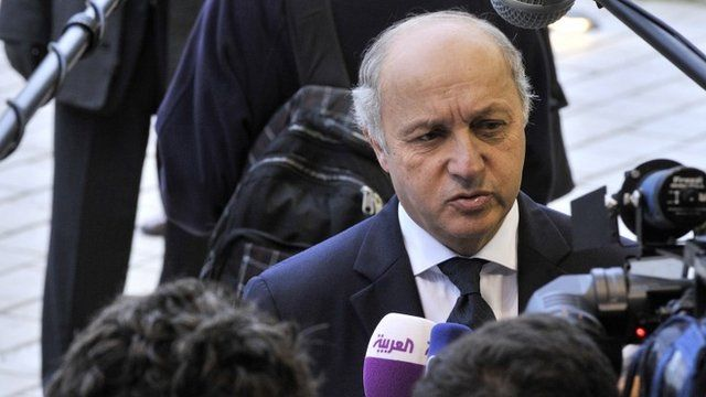 French Foreign Minister Laurent Fabius says the claims are