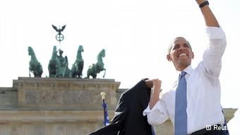 Obama mentioned the affair in his June speech at the Brandenburg Gate in Berlin