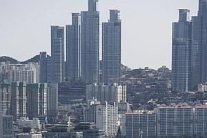 Sky is the limit: Secondary cities in certain mature economies, such as Busan in South Korea (above) and Kaohsiung in Taiwan, have growth potential as they shift from manufacturing to innovation and knowledge industries. - PHOTO: AP