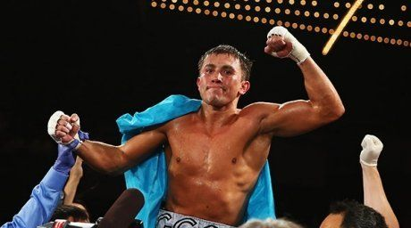 Gennady Golovkin. Photo courtesy of Al Bello