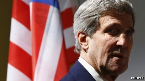 John Kerry said it would take time for America to resolve its differences with Iran