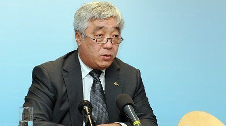 nister of Foreign Affairs of Kazakhstan Yerlan Idrissov. Photo courtesy of the press-service of the Ministry.  For more information see: http://en.tengrinews.kz/politics_sub/Foreign-Affairs-Minister-of-Kazakhstan-comments-situation-in-Ukraine-24578/? Use of the Tengrinews English materials must be accompanied by a hyperlink to en.Tengrinews.kz