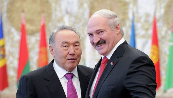 Nursultan Nazarbayev and Alexander Lukashenko have long ruled their respective countries with iron fists and tolerate no opposition to their regimes