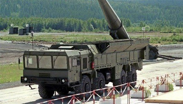 Iskander mobile theater missile system