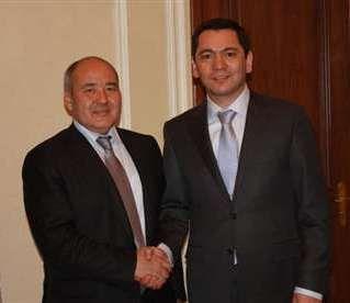 Kyrgyz premier Omurbek Babanov met again with Samruk-Kazyna head Umirzak Shukeyev