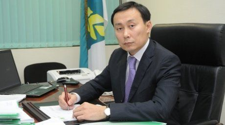 Kazakhstan Minister of Agriculture Asylzhan Mamytbekov. Credit:tengrinews.kz