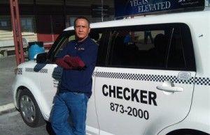 Gerardo Gamboa, taxi driver from Las Vegas