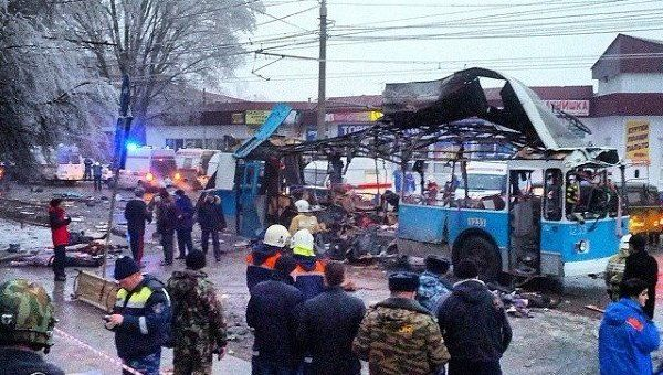 An explosion went off on a trolleybus in Russia's southern city of Volgograd